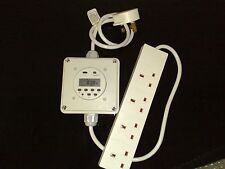 Hydroponics Light Switching Digital Timer Contactor HPS Lighting Grow Tent Relay