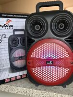 "bluetooth speaker portable SkyCube 5000W P.M.P.O  8"" +1 Tweeter Rechargeable Fm"