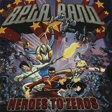 BETA BAND - HEROES TO ZEROES - CD - Inlay! - Steve Mason / UK 2000's Folktronica
