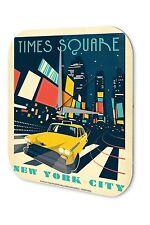 Orologio da parete  Deco Città Marke Time Square New York durante la notte il ta