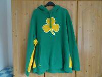 Nike NBA City Edition Hoodie Boston Celtics Size XXL Mens Green Shamrock Irish