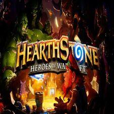 Hearthstone | 2 Golden Heroes | 4000+Gold | Legendary Cards | 15+Packs | US / EU