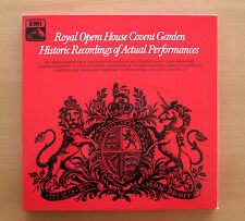 RLS 742 Royal Opera House Covent Garden Historic Recordings 3xLP EMI Mono NM