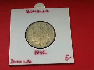 Rarre coin - Romania 2000 lei 1946 - Brass !