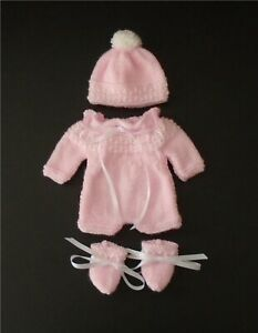 """Hand knitted dolls clothes for a 12""""- 13"""" doll"""