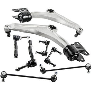 Front Suspension Kits Control Arms Sway Bar End Links for Ford Fusion 2013-2016