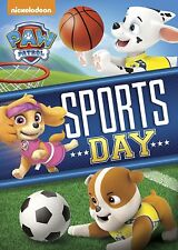 PAW Patrol: Sports Day [DVD Movie, Region 1, Bilingual, Family, Children] NEW
