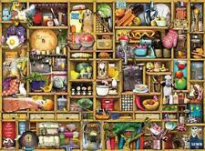 RAVENSBURGER JIGSAW PUZZLE KITCHEN CUPBOARD COLIN THOMPSON 1000 PCS  #19298
