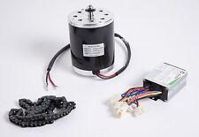 500 Watt 24 V DC electric 1020 motor kit w speed control & chain f scooter ebike