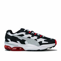 Mens Puma Cell Alien Og Trainers In Puma Black / High Risk Red
