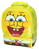 Spongebob Squarepants Dual Compartment Lunch Tote Box Bag