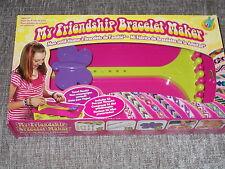 MY FRIENDSHIP BRACELET MAKER WITH 56 THREADS IDEAL CHILDS ACTIVITY CRAFT