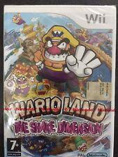 Nintendo Wii Wario Land: The Shake Dimension NUOVO FACTORY SEALED >ITA<WARIOLAND