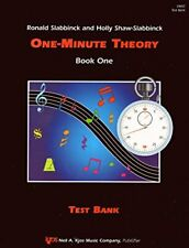 VM5T - One-Minute Theory Bk. 1 - Test Bank by Ronald Slabbinck Holly Shaw-Sla…
