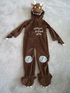 Gruffalo Fancy Dress All-in-One Costume 3-4 Years Animal Brown Outfit Toddlers