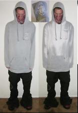 "Akrynm Tall ""Hyperchromic"" Hoodie XLT - Grey/White Ski / Snowboard Hoodie"