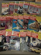 Lot Of 18 - 1965-1967 Hot Rod Parts Illustrated Magazines