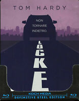 Locke - Definitive Steel Edition - Blu Ray Steelbook - Nuovo Sigillato