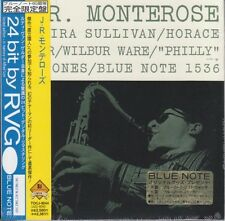 J.R. Monterose ‎– S/T BLUE NOTE RVG FIRST EDITION JAPAN MINI LP CD Horace Silver