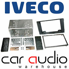 CT23IV04 Iveco Daily 2014 On Car Stereo Double Din Facia Fascia Panel Plate Kit