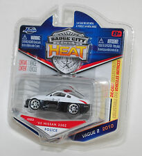 Jada BADGE CITY HEAT 2003 NISSAN 350Z POLICE WAVE 2 #022 1/64