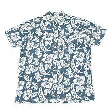 Vintage TOM TAILOR Hawaiian Shirt   Men's L   Button Retro Aloha Pattern Graphic
