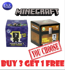 Minecraft Minifigures blind box AUTHENTIC Series 2 4 & 15 *Pick your own*