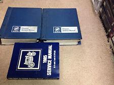 1985 Buick Grand National Riviera ALL MODELS Service Shop Repair Manual Set W BO