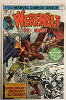 Werewolf By Night #37, VF- 7.5, 3rd Appearance Moon Knight