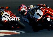 Ducati prospectus D + F 1999 brochure 996 sp 748r s 900ss st2 st4 Monster Moto