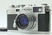 [Near MINT] Nikon S3 Rangefinder Camera Body Nikkor-H.C 50mm f/2 Lens From Japan
