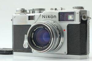 [Near MINT] Nikon S3 Rangefinder Camera Body Nikkor-H.C 50mm f/2 Lens From Japan