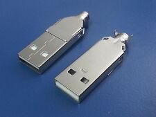 2 PEZZI CONNETTORE SPINA USB  VOLANTE
