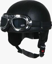 Helmet Driver Cruiser U9 size: L + GLASSES VINTAGE CAR / Retro/ GDR Moped