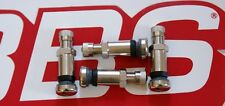 4 REAL BBS 8mm {opening} METAL VALVE STEMS 09.15.036