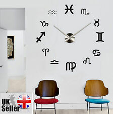 Modern Large Wall Clock 3D DIY Home Decoration Living Room Bedroom Office