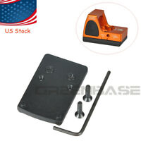 Pistol Scope Plate Mount Fits RMR Red Dot Sight for Glock 17 19 22 23 34 41