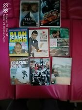 Bundle of 8 movies DVD - Titanic, Xmen and others