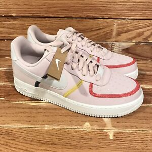 Air Force 1 '07 Low LX 'Stitched Canvas - Siltstone Red' [CK6572 600] Women's 10