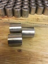 """Stainless Steel Spacers/ 2""""/ 50.8mm od x 10mm long x 12m id /any length any bore"""