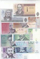 ESTONIA 1-500 krooni 1992-2007 UNC