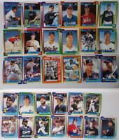 1990 Topps Chicago White Sox Team Set of 31 Baseball Cards Frank Thomas