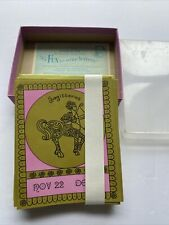 New ListingVintage Sagittarius Note Cards Greeting Eaton Blank inside 12 cards