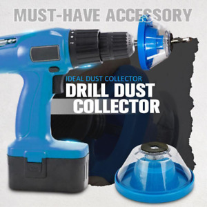 Upgrade Electric Drill Dust Cover ash bowl Drill Dust Collector Tool Accessories