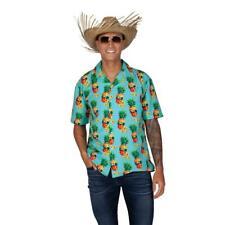 Hawaiian Shirt Funky Pineapple Tropical Floral Top