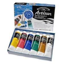 Winsor & Newton Artisan Beginners Water Mixable Oil Paint Set 6 X 37ml Tubes