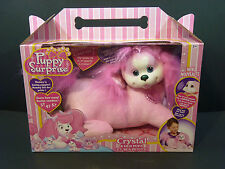 Puppy Surprise Plush Stuffed Animal Crystal & Her Pups --NEW IN BOX--