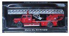 """DIE CAST """" METZ DL 52 KRUPP """" FIREFIGHTERS OF FIRE FIRE TRUCK SCALE 1/72"""