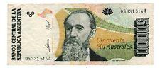 Argentine ARGENTINA Billet 50000 AUSTRALES ND 1989 - 1991 P335 L PENA BON ETAT