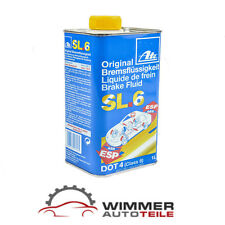 1x 1 Liter Original ATE Bremsflüssigkeit DOT 4 SL6 1L Fluid Klasse 6 ABS ASR ESP